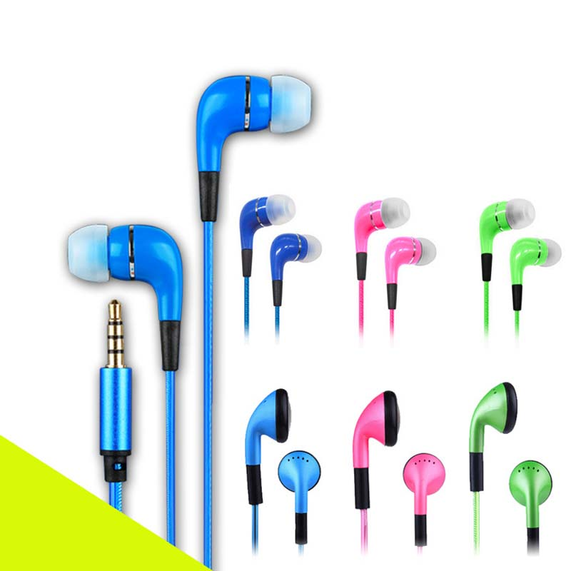 Fashion Sport Visible Flowing LED Flash Light Stereo Glow Earphone Headphone Headset Earbud With Microphone For Smart phone iPod<br><br>Aliexpress