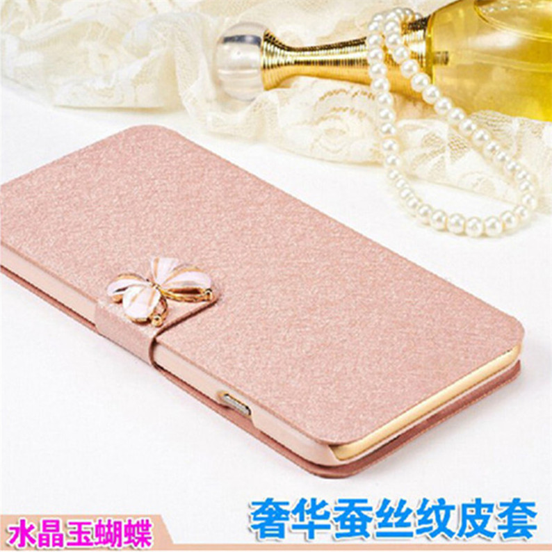 Luxury Samsung Galaxy J1 J100 J100F J100H Case PU Leather Back Cover Case Samsung J1 2015 Flip Protective Phone Bag