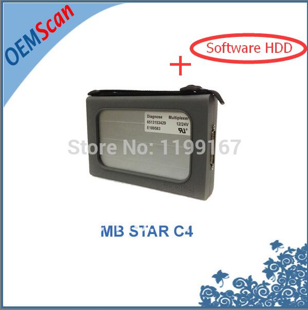 2016 New Cost Effective Mb Star C4 for 24v Trucks &12vCars with mb star c4 software Xentry 2015.07 Version as mb star c3,c3 star(China (Mainland))