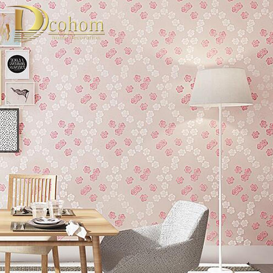 Online kopen Wholesale Paars roze behang uit China Paars roze behang ...