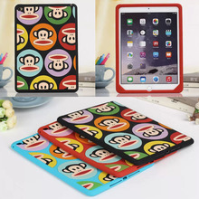 Anti-knock Multi monkey mouse silicon tablet PC for 9.7″ Apple iPad air  / 5  accessory protective  case shell skin back cover