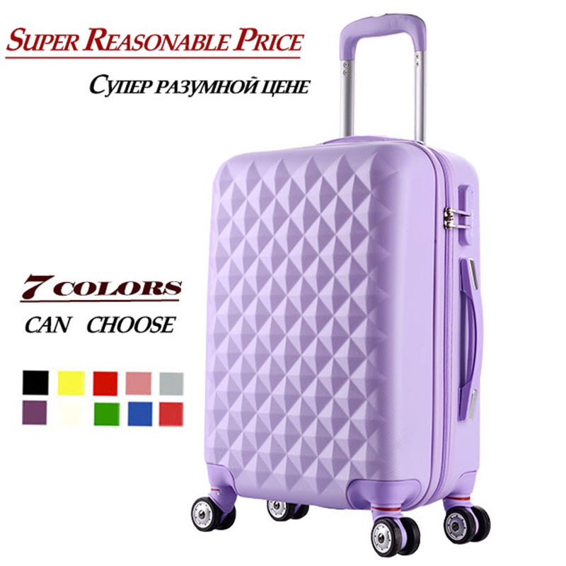 """20 inch""""24 inch""""28 inch""""inch Trolley suitcase luggage traveller case box Pull Rod trunk rolling spinner wheels ABS+PC boarding bag"""""""