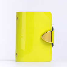 Buy 2016 Fashion Business Credit Card Holder Bags Leather Strap Buckle Bank Card Bag 26 Card Case ID Holders Business Card Wallets for $8.98 in AliExpress store