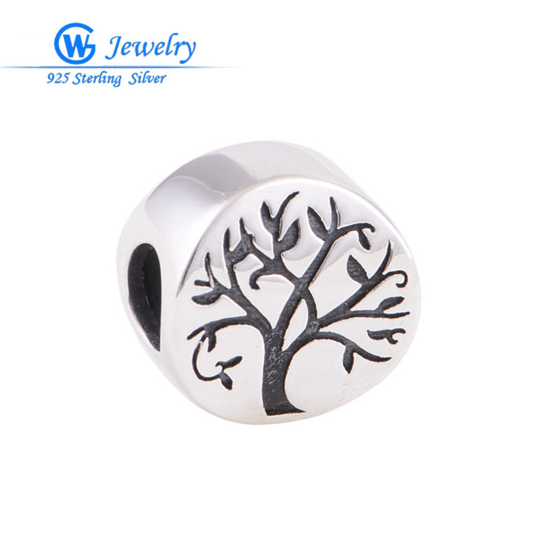 Tree of life charm pendant 925 sterling silver for Christams diy gift alibaba express GW fine jewelry T108(China (Mainland))