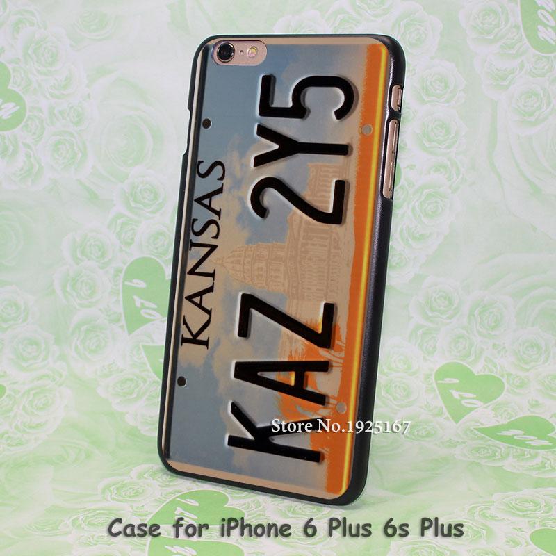 kansas KAZ 2Y5 Pattern hard black Case Cover for iPhone 4 4s 5 5s 5c 6 6s 6 Plus 6s Plus(China (Mainland))