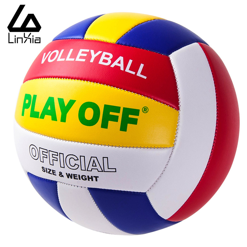 Free Shipping Official Size 5 PU Volleyball High Quality Match Volleyball Indoor&Outdoor Training ball With Free Gift Needle(China (Mainland))