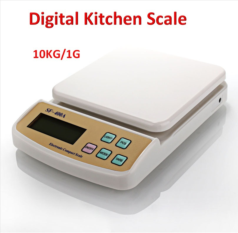 Buy 10kg 1g digital kitchen scale food for 0 1g kitchen scales