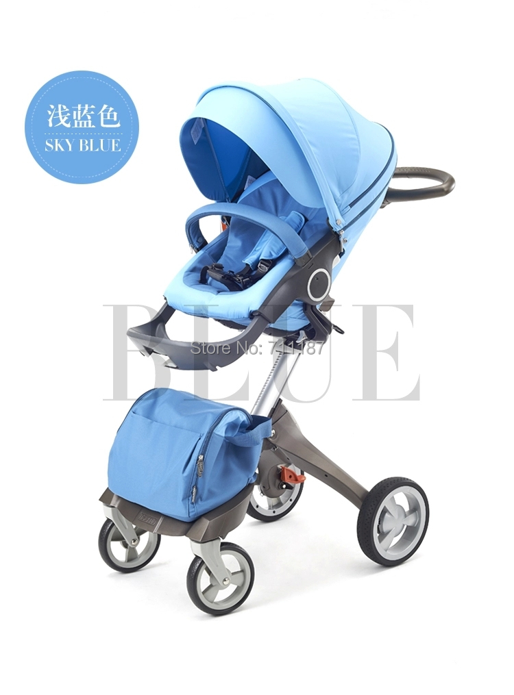 The Double Face Height Adjustable Stoller Light and Handy Suitable for Baby Good Quality Four Wheels  Floding Dsland Baby Prams<br><br>Aliexpress