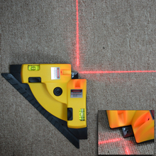 High Quality Vertical Pro Vertical Horizontal nivel laser level Line Projection Square Right Angle 90 degree