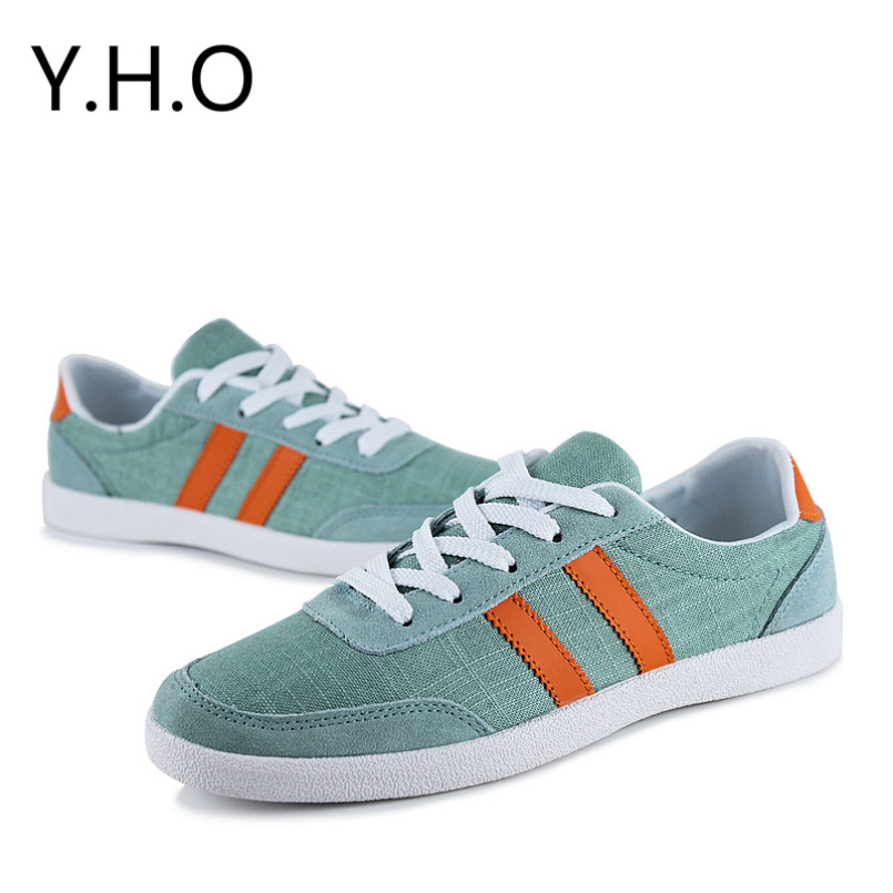 Hot new summer men's casual shoes Korean men's sports and leisure shoes lazy breathable fashion Sneakers canvas shoes tide