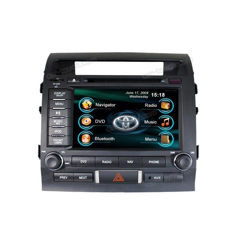 2 din car radio video player auto stereo multimedia headunit Toyota Land Cruiser - Cartouch Entertainment store