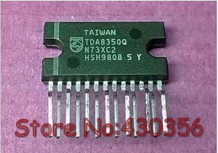 Free shipping New Arrive All warranty wholesale price 100% good Electronic tda8350q wholesale(China (Mainland))
