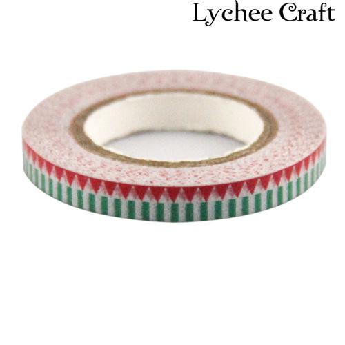 Lychee Craft Cartoon Adhesive Tape Wall Art Washi Tape Masking Adhesive Scrapbooking Christmas Gift DIY Decorative Tape<br><br>Aliexpress