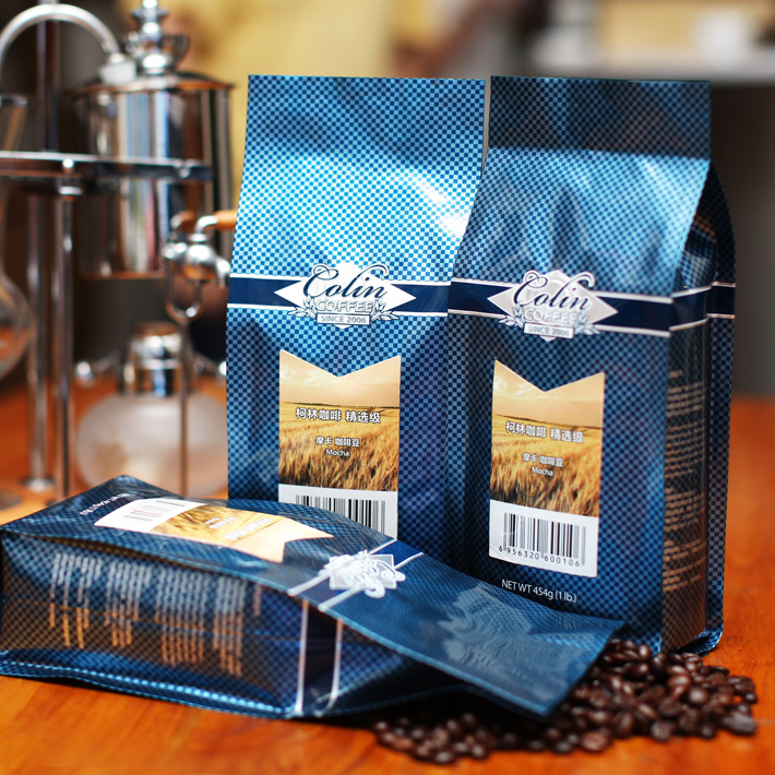 Free shipping 454g Corkin collection mocha coffee beans fresh green slimming coffee beans new 2014 cafe
