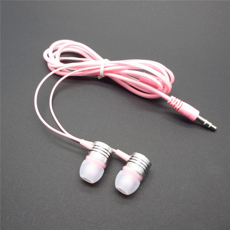 3.5mm Stereo In-Ear Earphones earpods with Crystal cable For Xiaomi samsung iPhone MP3/4 Music Player