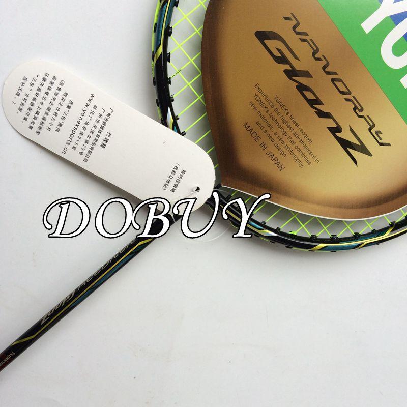 New Arrive Popular 1 Piece Glanz Badminton Racket 3U badminton racquet