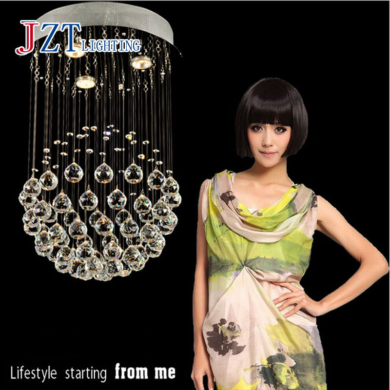 Z best price G9 LED Chandelier Mounted Light Ceiling Crystal Led Strip Flashlight solar Creative Restaurant Dining Room Bedroom(China (Mainland))