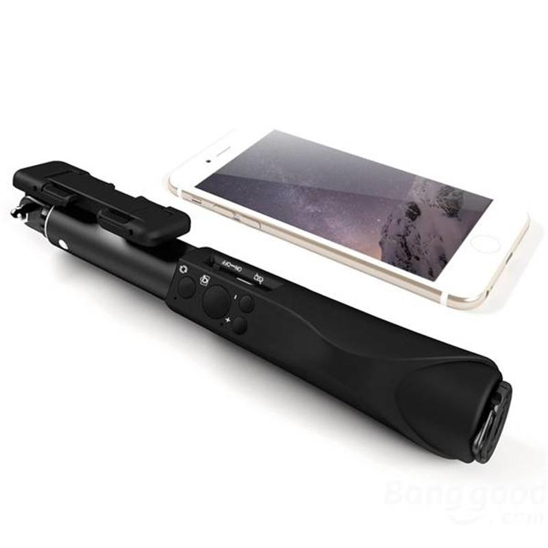 image for BlitzWolf All Metal Mini Bluetooth Selfie Stick Monopod Universal Self