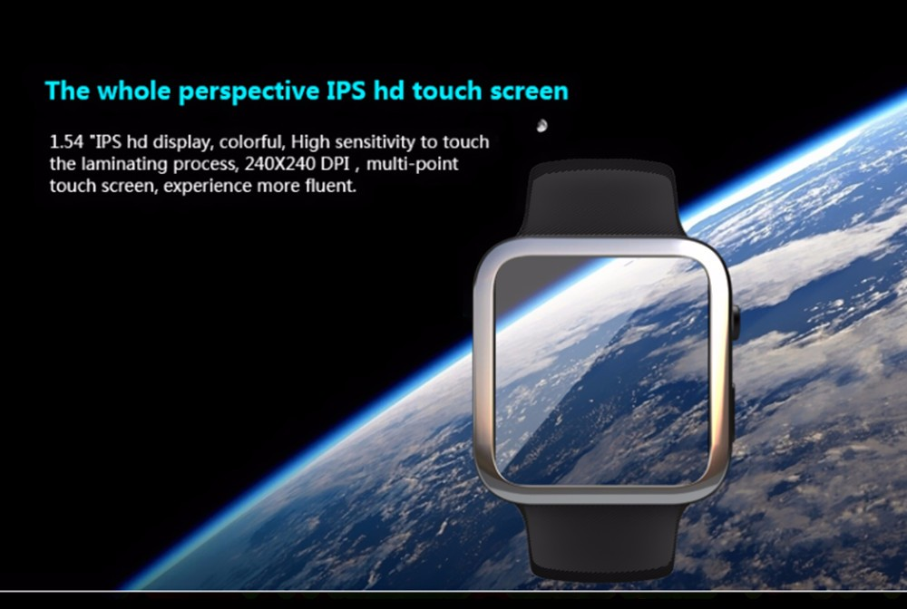 100% Brand New CK1 Bluetooth Smart Watch Phone Smartwatch Wristwatch for IOS Apple Phone Samsung HTC Huawei Android Smart phones