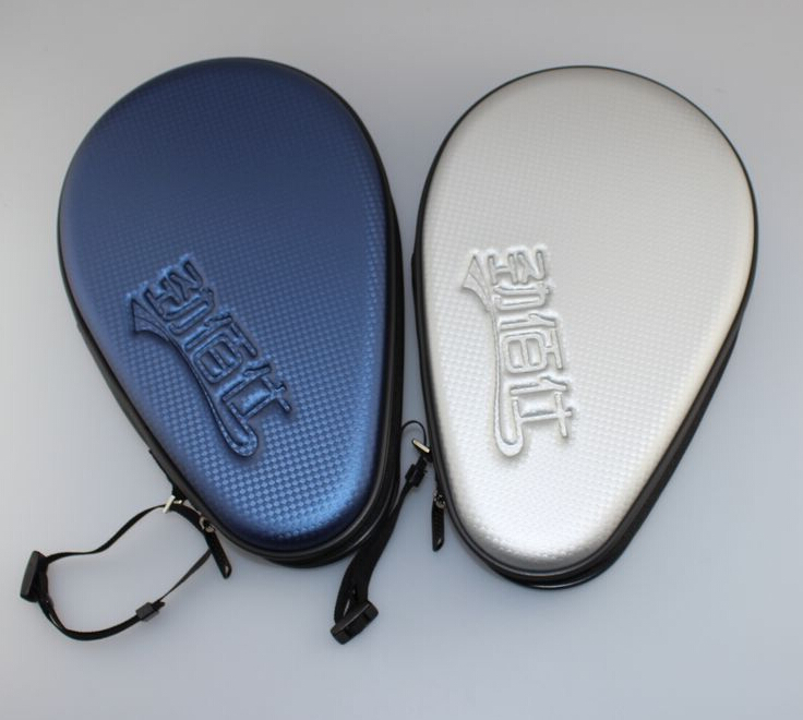 Free shipping Table Tennis quality expensive PU Bag Ping Pong Case for Table Tennis RacketsTenis De Mesa Green/Blue