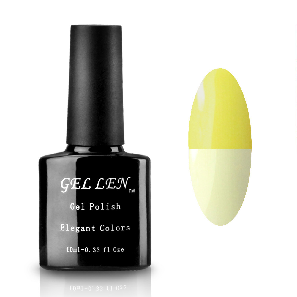 Gel Len Temperature Change Gel Polish Soak Off Nail Art 205 Colors High Quality Long Lasting Nails Varnish(China (Mainland))