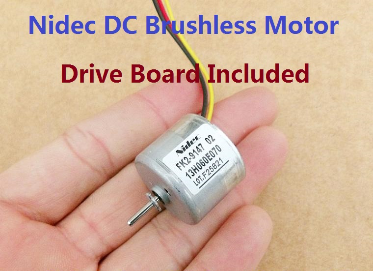 Buy 2pcs Nidec Brushless Dc Motor With
