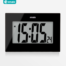 Large LED screen digital alarm clock snooze home design electronic modern LCD table clock fashion watch wall relogio digital 24(China (Mainland))