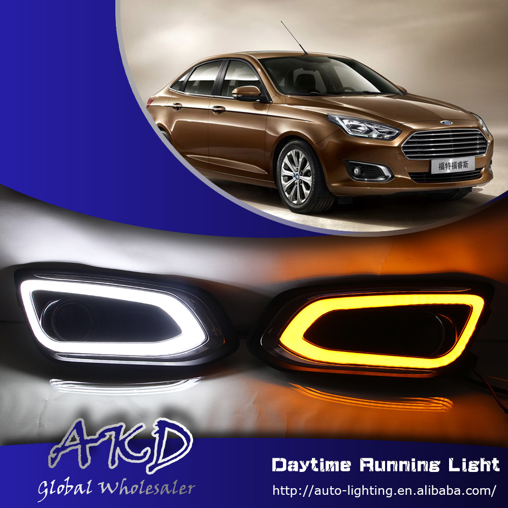 One-Stop Shopping for Ford Fusion LED DRL Escort DRL Fusion LED Daytime Running Light Car Fog Lamp Automotive Accessories(China (Mainland))