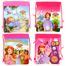 1pic school bags kids cartoon drawstring backpack& bag For kids bag back to school mochila infantil