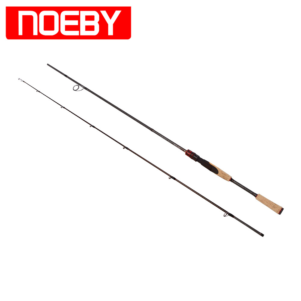 2017 NOEBY Fishing Rods Carbon 1.98m 2section M/ML Spinning Rod Varas De Pesca Fishing Canne Peche Fish Stand Pole Handel(China (Mainland))