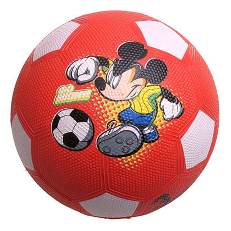 Mesuca Sports Disney Red Rubber Football Soccer Ball DA2004-A(China (Mainland))