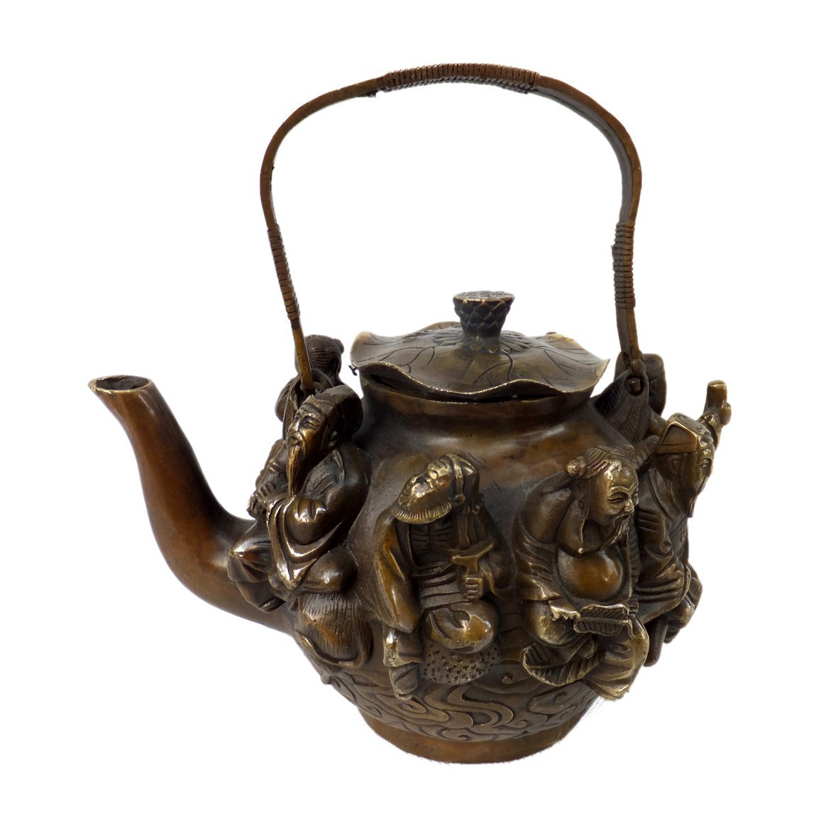 Buy china excellent antique metal crafts for Household decorative items