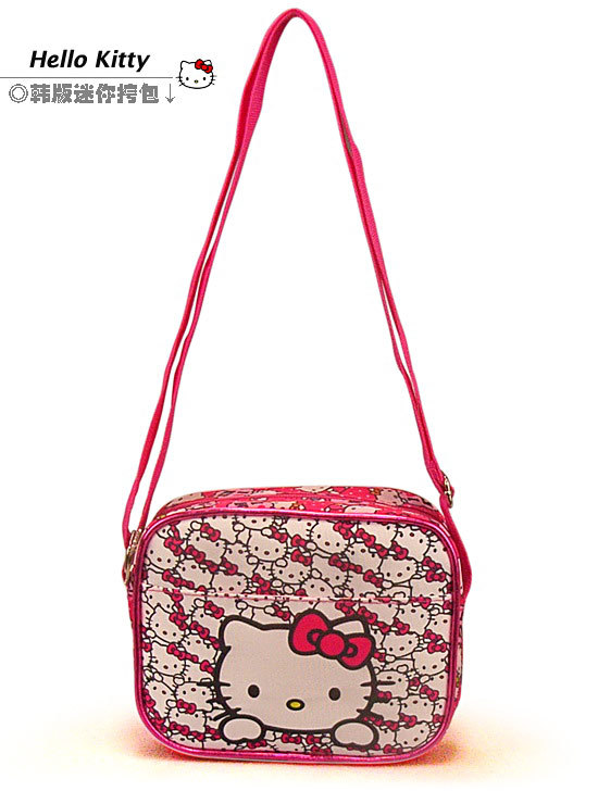 1pcs Hot Selling Hello Kitty Messenger bag Children girls small Snacks bag Free Shipping(China (Mainland))