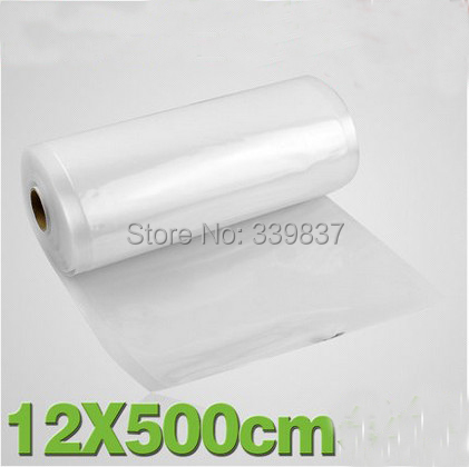 12*500cm Eco-friendly 100%Waterproof Vacuum Bags for Food Packing Net Bags Roll(China (Mainland))