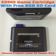 SEGA GENESIS MegaDrive(MD) EDMD Game Cartridge, USA, Japanese and European game card shell(China (Mainland))