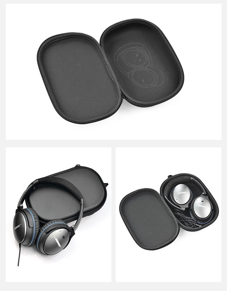 Outdoor Traveling Protect Case Bag Portable EVA Bag For Headphone Headset BOSE QC15/QC25/QC35 Accessories