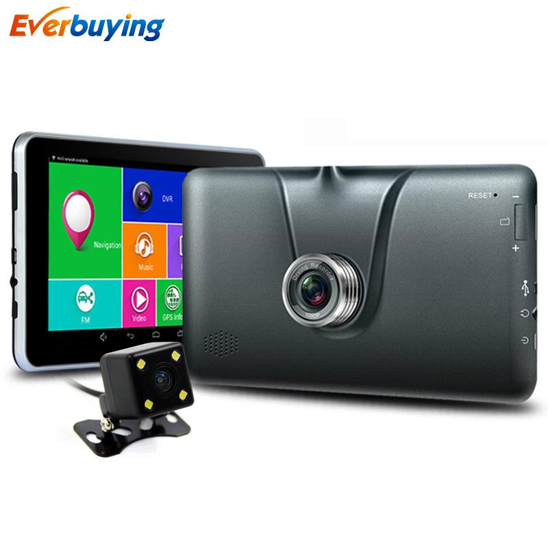 7-дюймовый Android Автомобильный GPS навигатор заднего вида видеорегистраторы автомобильные детектор Bluetooth/АВИН/беспроводной Навител/Европа GPS-навигатор, GPS корабля