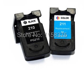 Картридж с чернилами RX Canon PG 210 & CL 211 , 100% PG-210 +  CL211