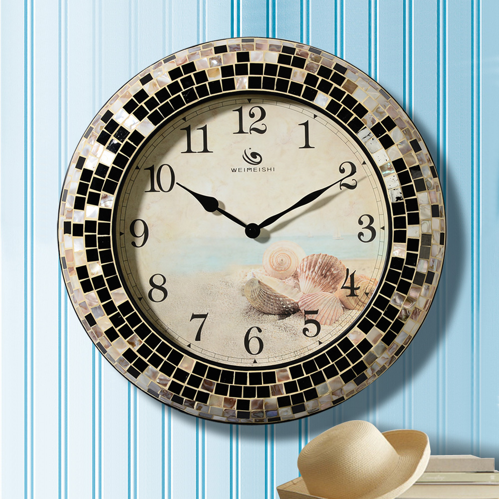 Large living room wall clock wall clock personalized for Living room wall clocks