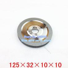 Sdc plana diamante muela, molienda de acero de tungsteno de la rueda, especificación : 125 * 32 * 10 * 10