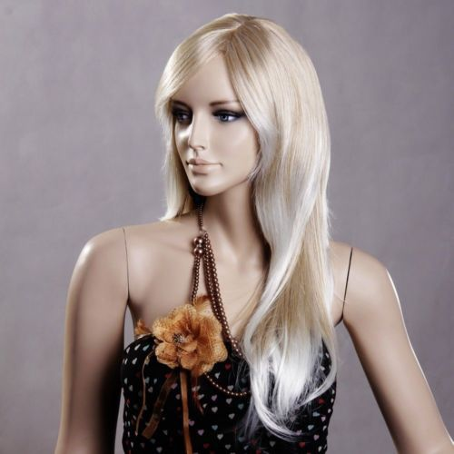 Long Platinum Blonde Wig With Bangs Xxx Long Ash Platinum Blonde