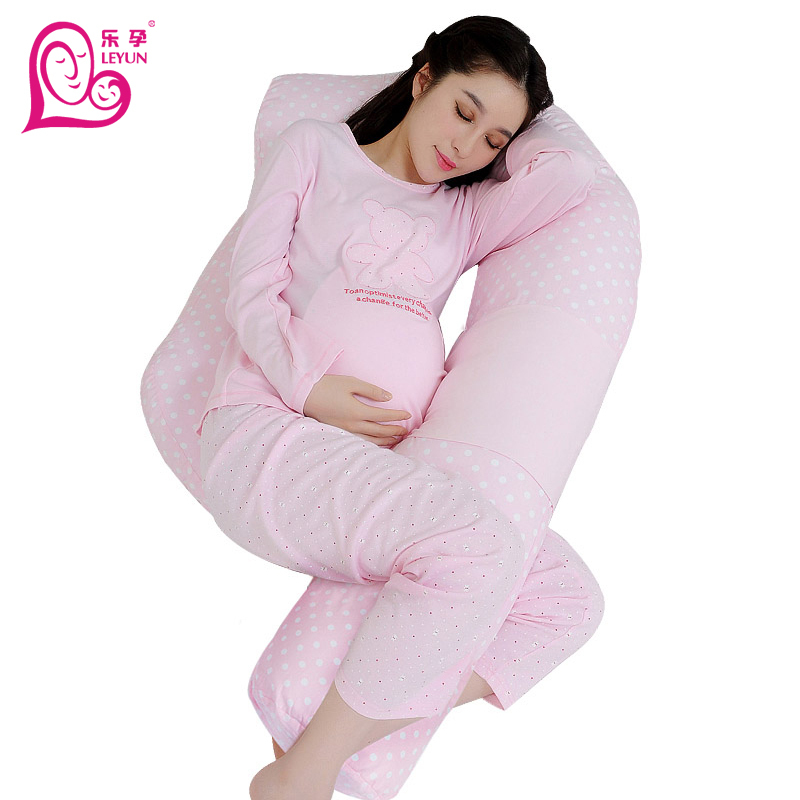 2015 new arrivalF-shape pregnancy pillow soft breastable maternity women sleep breastfeeding set body hot - SHANGHAILEYUN E-COMMERCE CO. LTD store