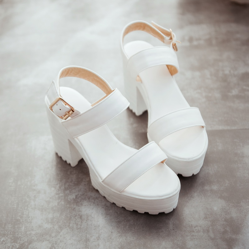 fashion 2016 new summer wedges platform sandals