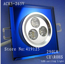 best selling!Seiko space aluminum & K9 crystal led ceilling light.3w.10pcs/lot freeshipping.CE&RoHS(China (Mainland))