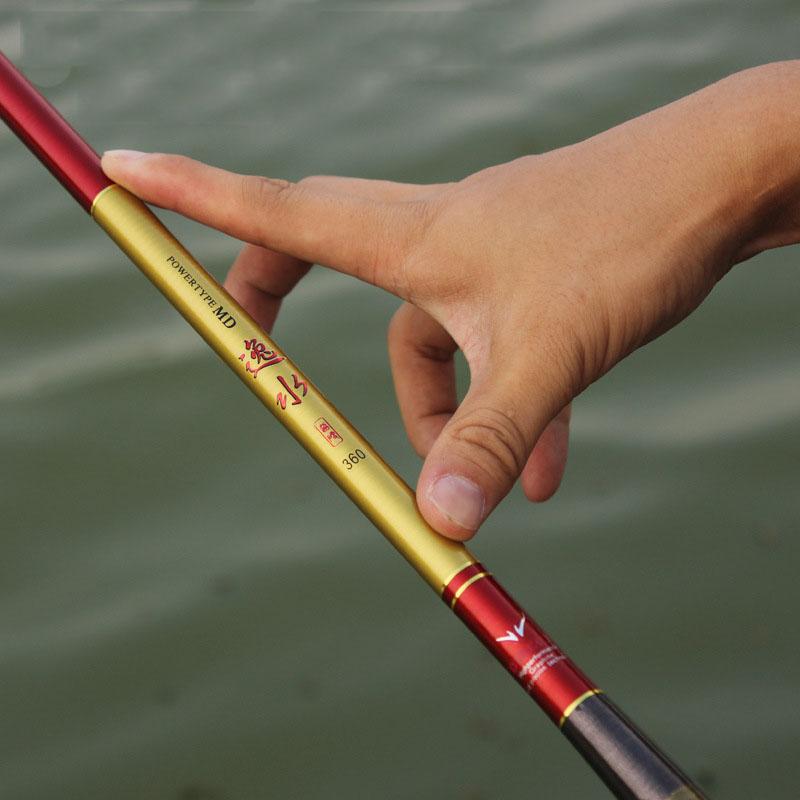 2.7-5.4meters fishing rods high-quality stream fishing pole hard taiwan fishing rod Top quality custom carbon fast transport(China (Mainland))