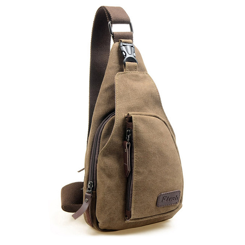 Canvas Male Shoulder Bag, Casual Canvas Bag/ One Single Shoulder Messenger Bag/outdoor Travel Bag Small Sports(China (Mainland))