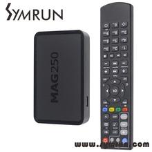 Mag250 Sky IPTV Box Streaming IPTV IPTV Channels Server Mag 250 Remote Control