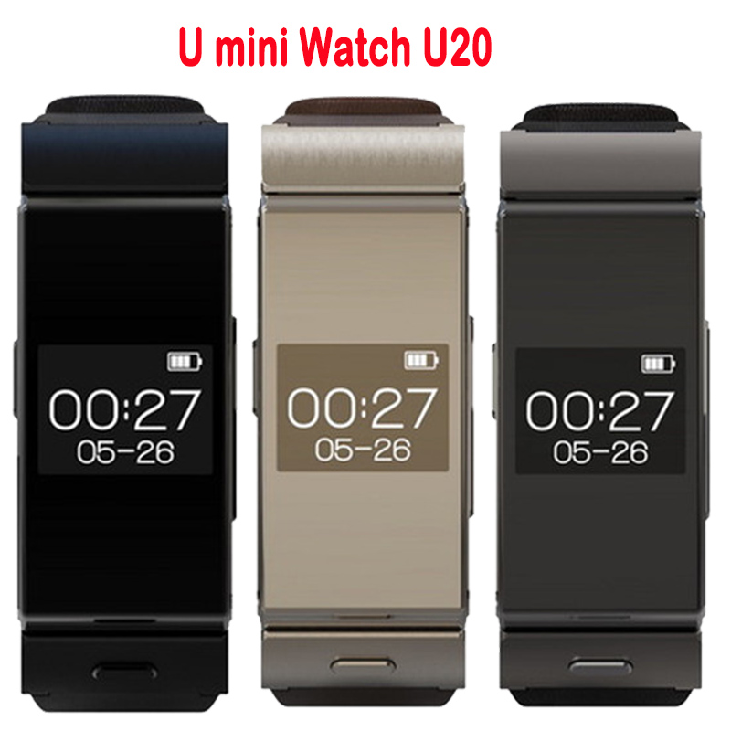 Uwatch U MINI Bluetooth Smart Watch BT4.0 Earphone Sleep Monitor Leather Straps Smartwatch for IOS Android Mobile Phone(China (Mainland))