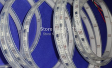 5m DC12V 60leds/m 20pcs ws2811 ic/meter(20pixels) led digital strip;IP68;waterproof in silicon tube(China (Mainland))