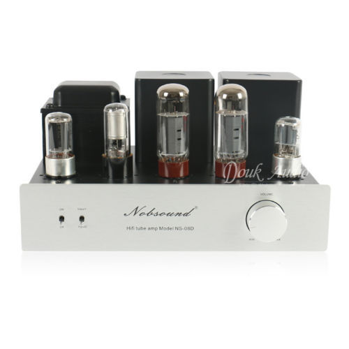 Nobsound EL34 single-ended class A Tube Amplifier Hifi Stereo Valve AMP 11W+11W(China (Mainland))